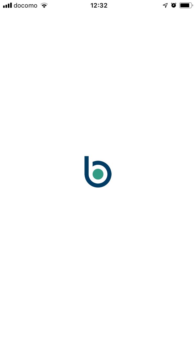 bitbankアプリ起動画面