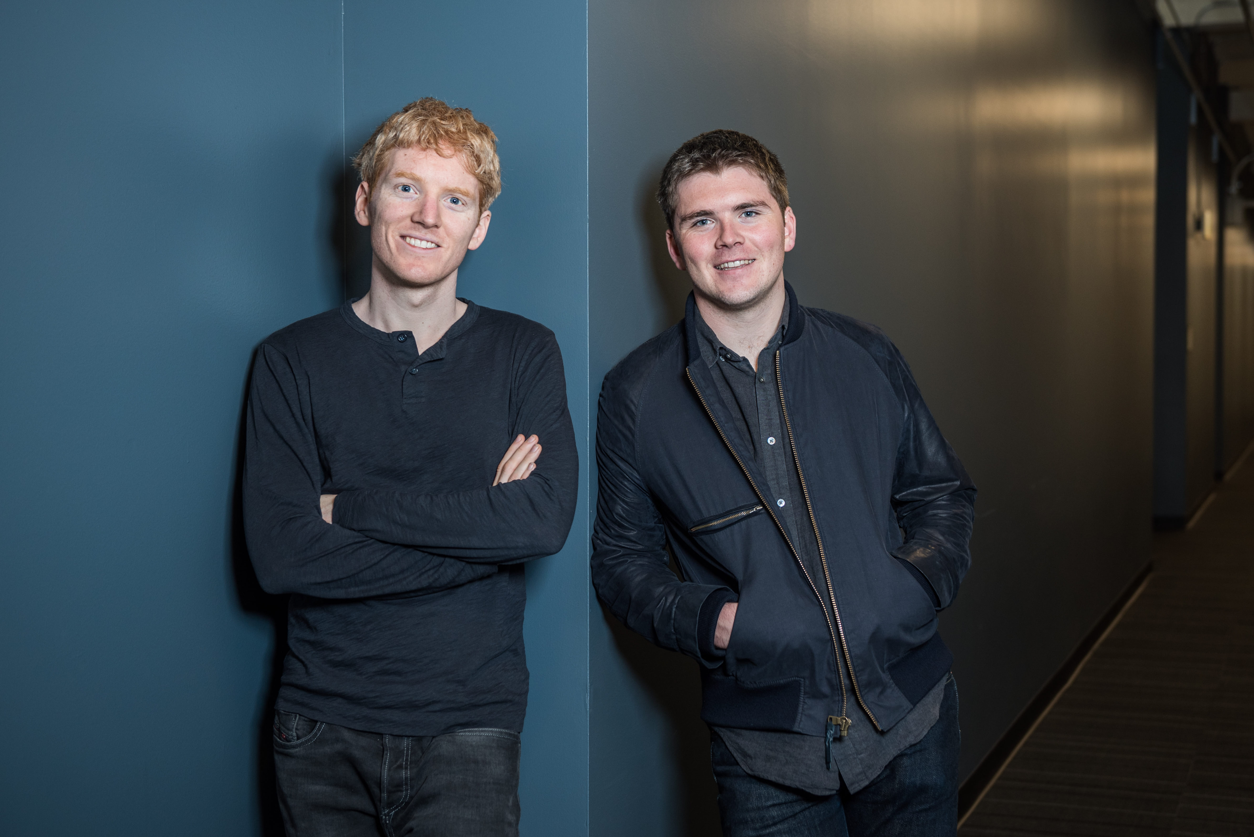 Patrick and John Collison 1