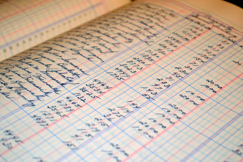 貨幣と帳簿