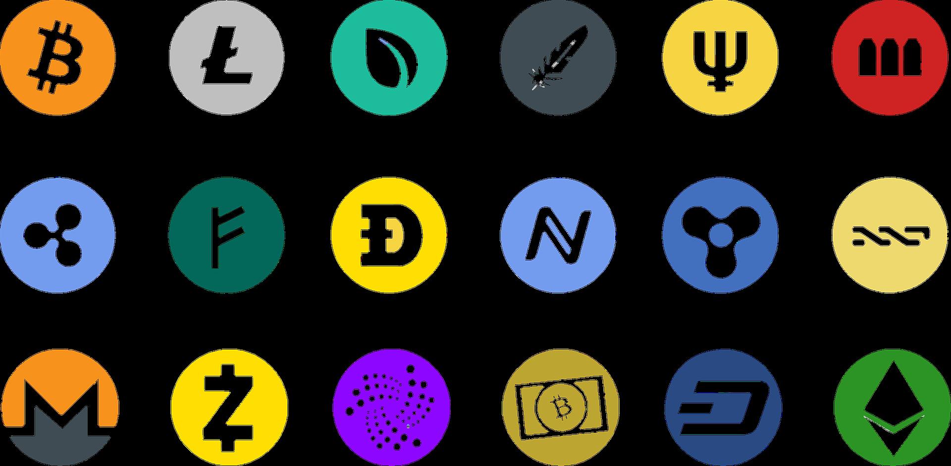 仮想通貨の一覧